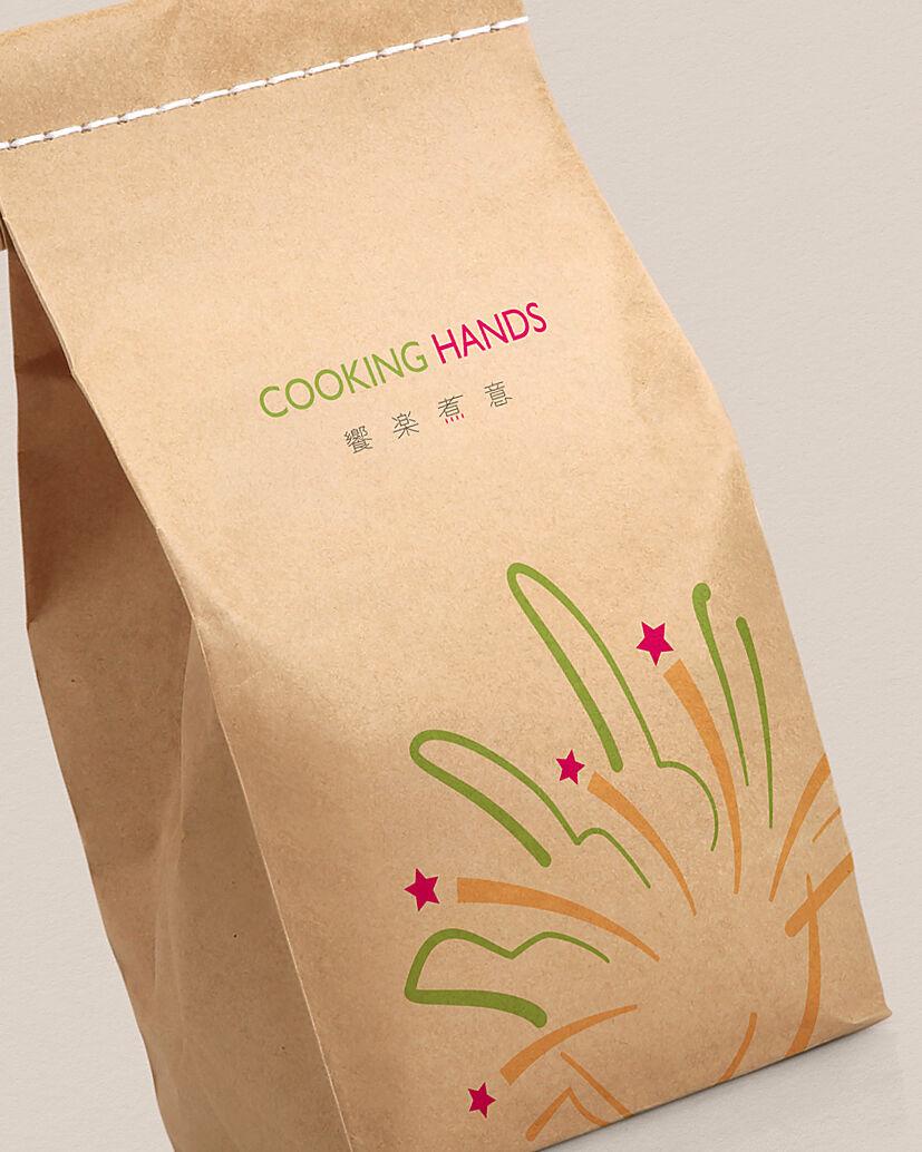 Cooking Hands Craftpaper Bag Featured