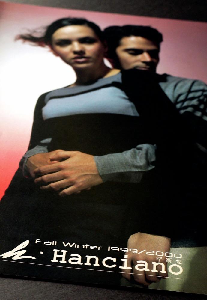 Hanciano Fw1999 Lookbook 01
