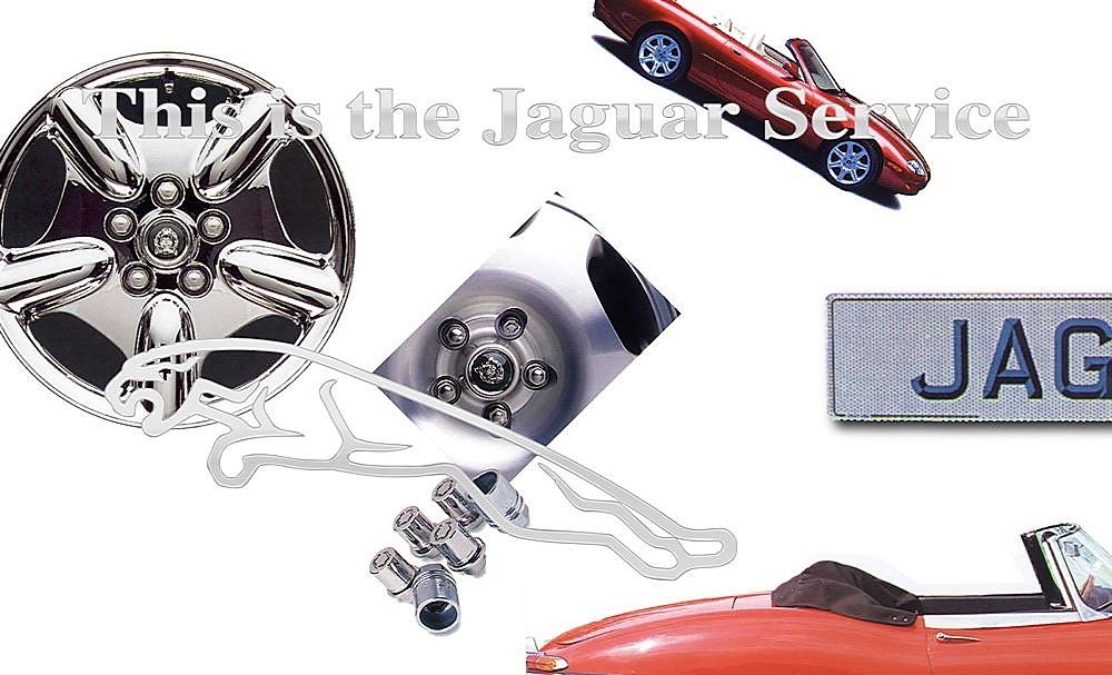 Jaguar Services Postcard 1996 01