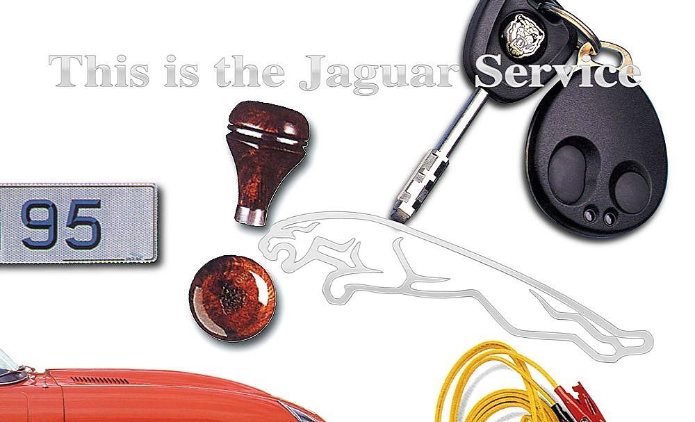 Jaguar Services Postcard 1996 02