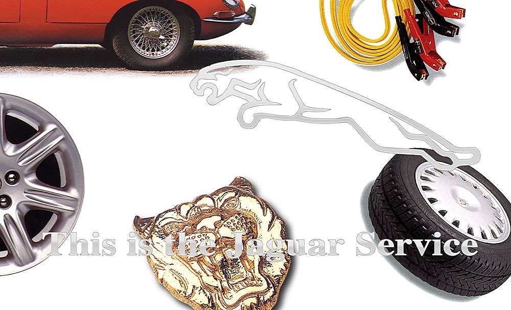 Jaguar Services Postcard 1996 03