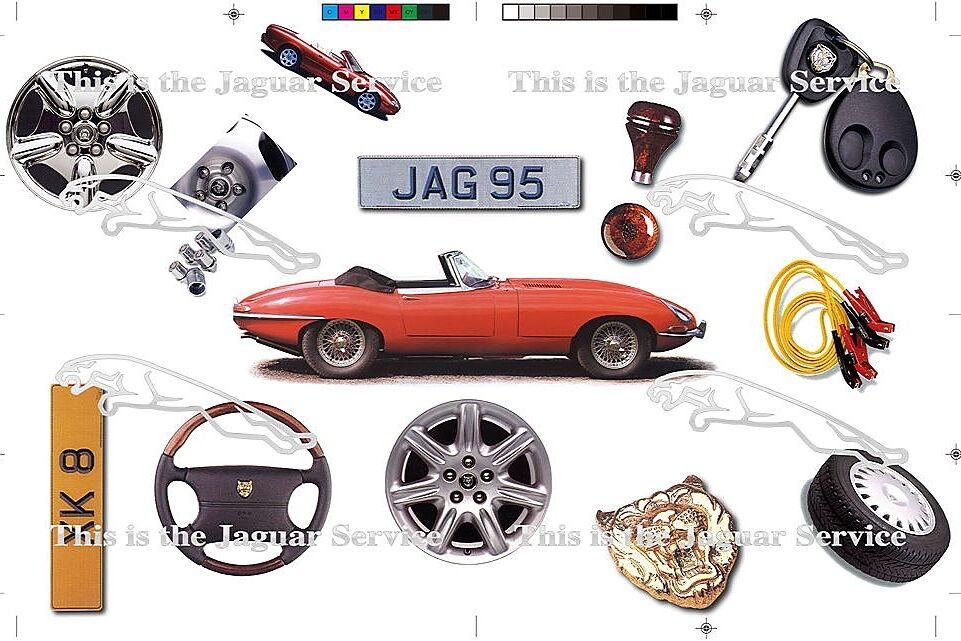 Jaguar Services Postcard 1996 05