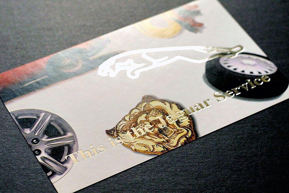 Jaguar Services Postcard 1996 06