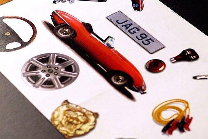 Jaguar Services Postcard 1996 08