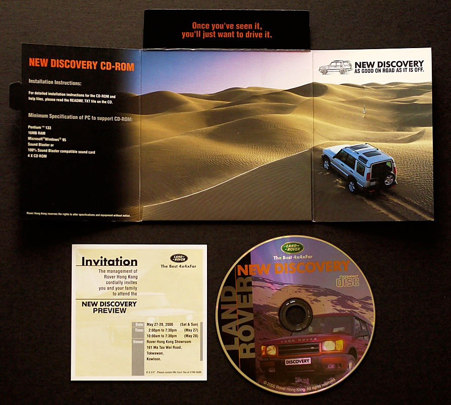 New Discovery Launch Cd 03