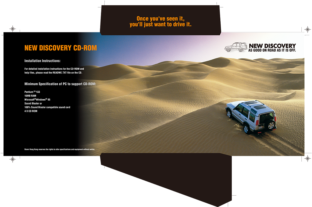 New Discovery Launch Cd Jacket 2