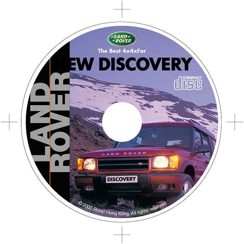 New Discovery Launch Cd Print