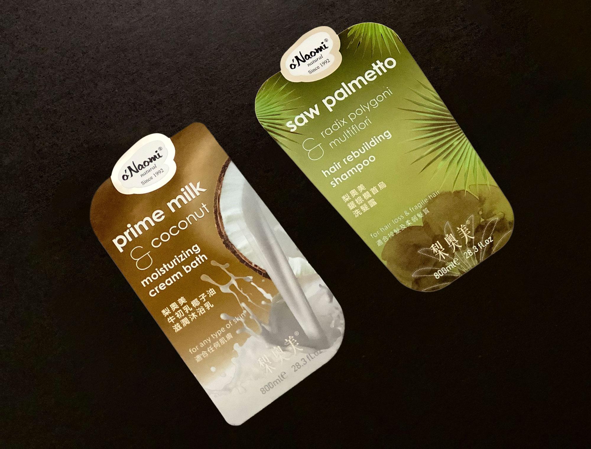 Natural Series Label