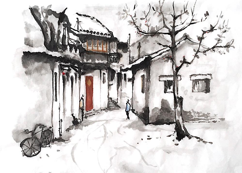 Jingliu Chinese Painting 2016 01