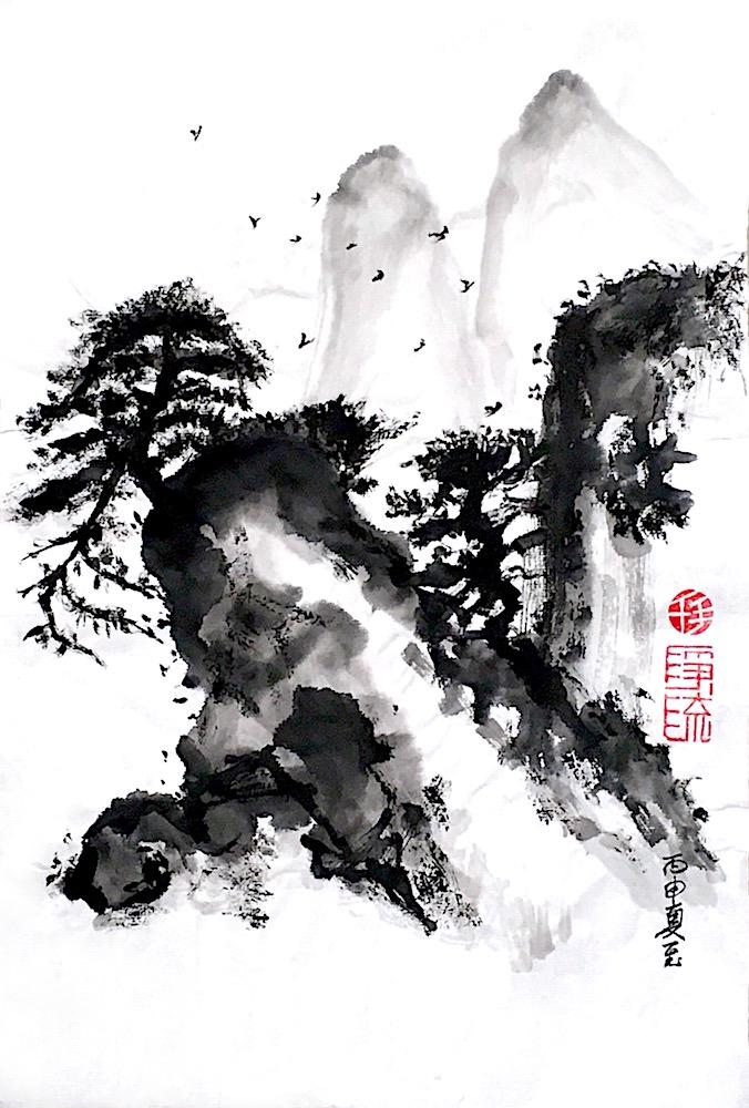 Jingliu Chinese Painting 2016 11