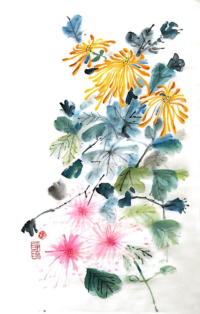 Jingliu Chinese Painting 2016 19