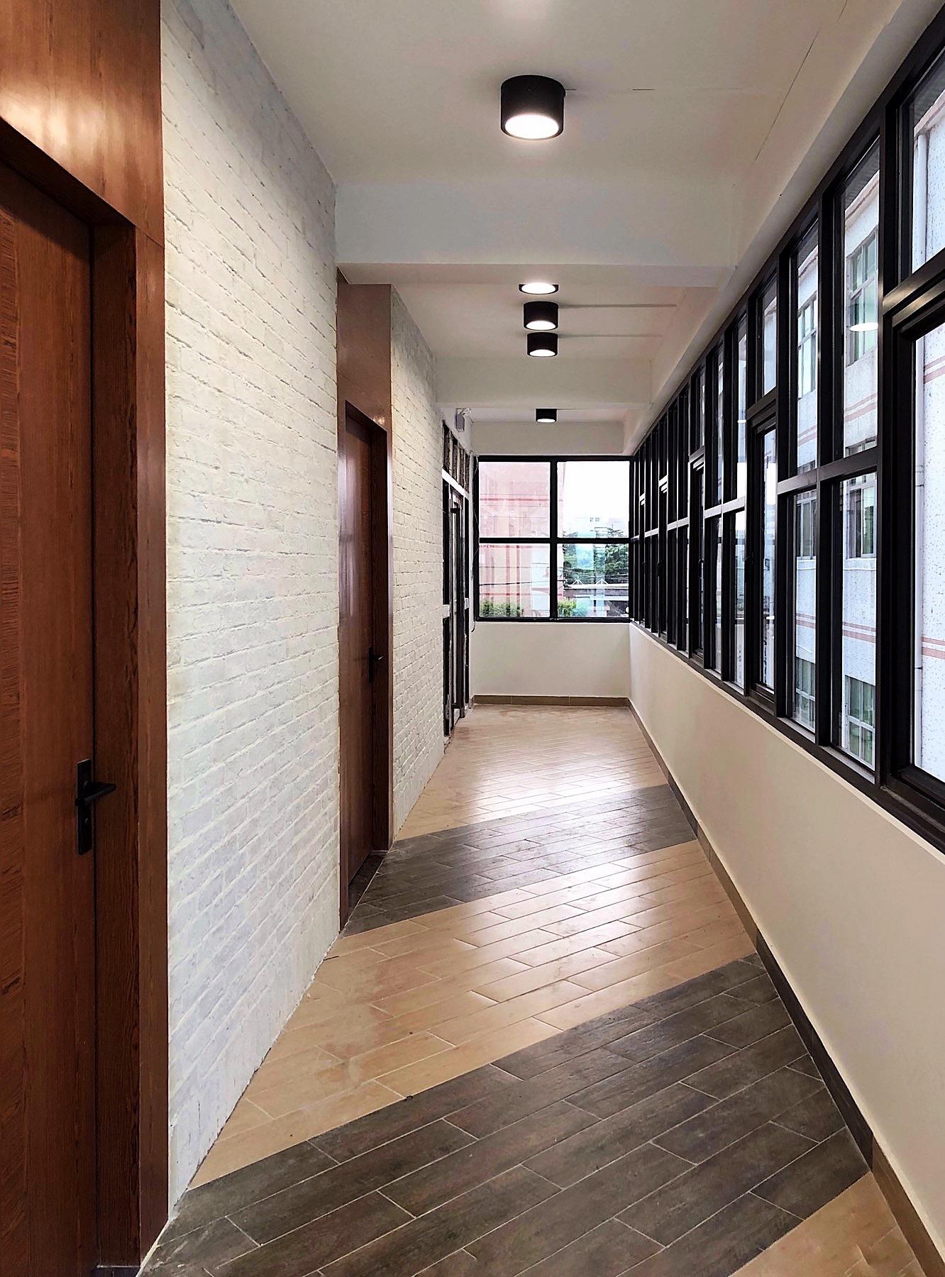 Grandway Office Renovation 2018 2nd Floor Boss Room Corridor 003