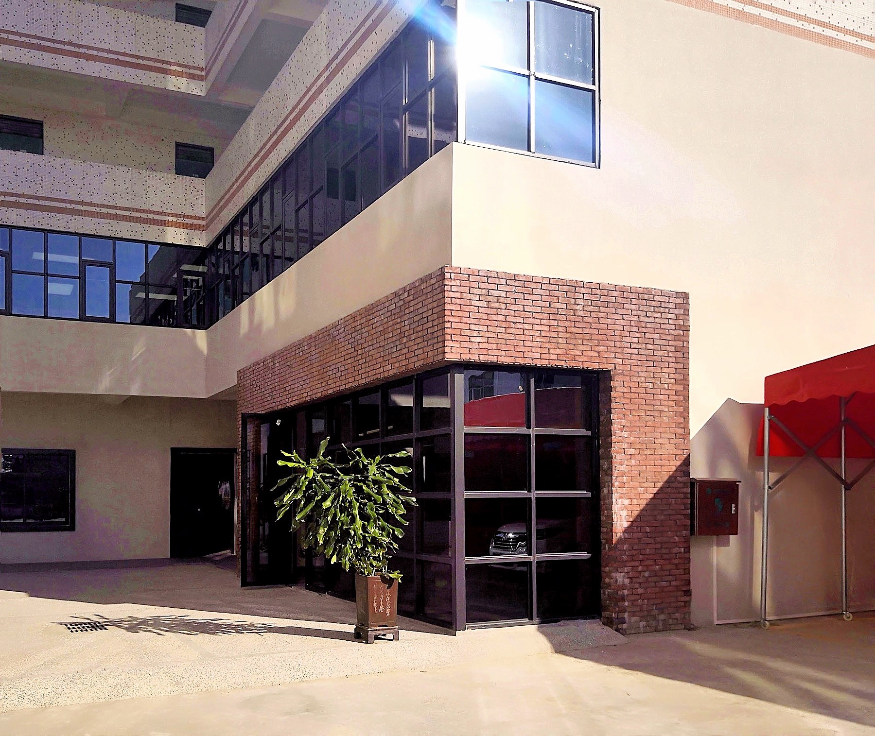 Grandway Office Renovation 2018 Main Entrance 003