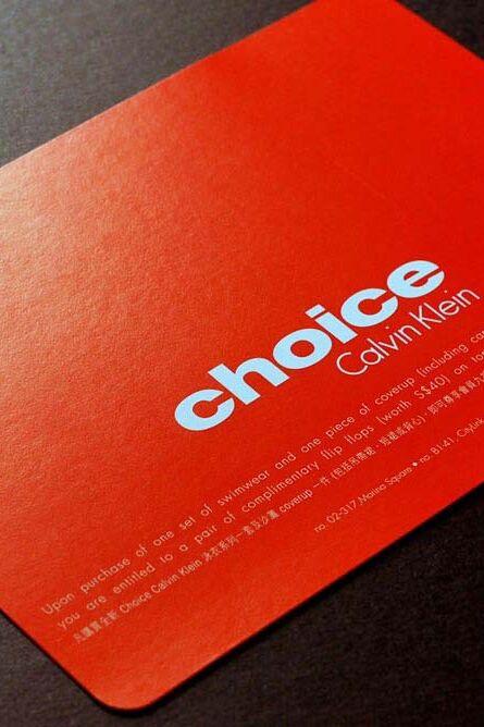 Choice By Calvin Klein Dm 01