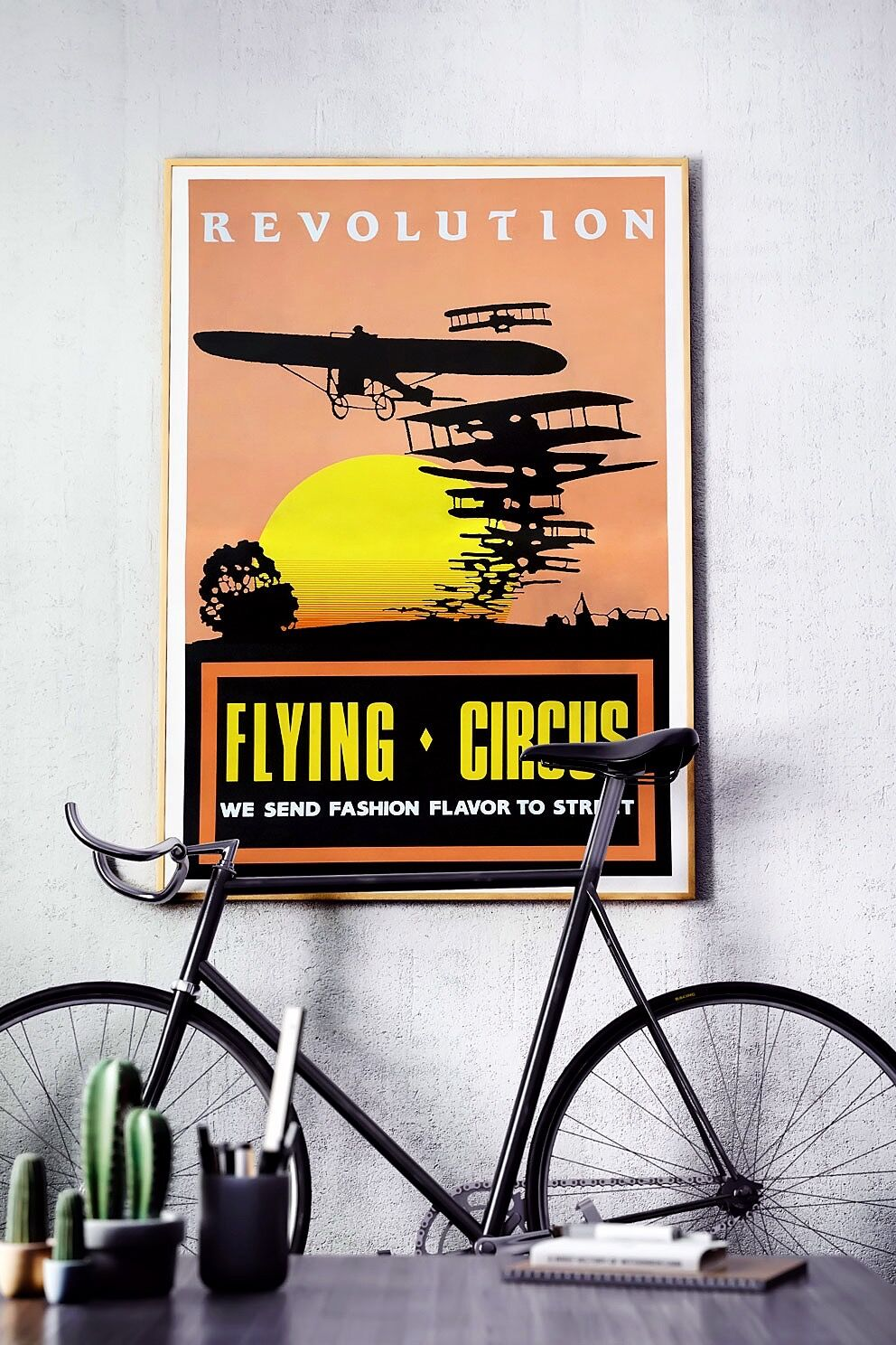 Flying Circus Poster 1987 Mock Up 03