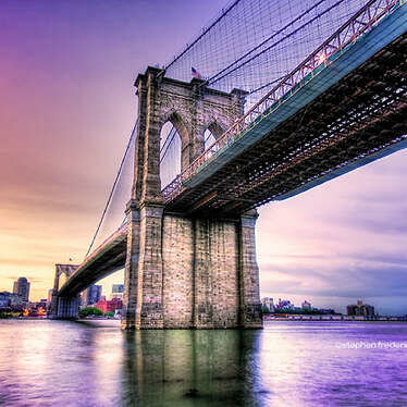 Brooklyn Bridge Brooklyn New York Usa