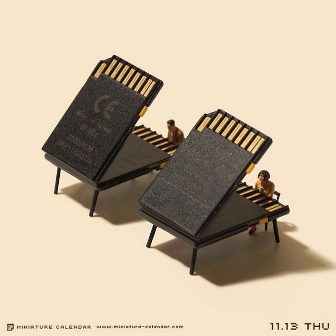 Miniature Calendar 01