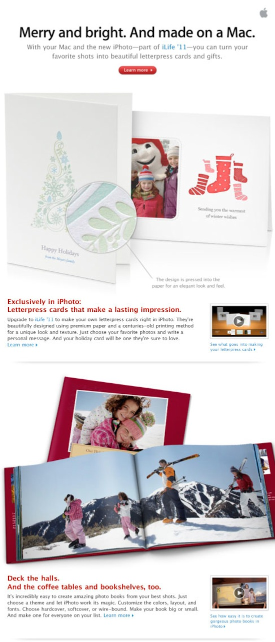 Make great cards and gifts. Right on your Mac.
