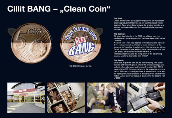 """Cillit BANG """"Clean Coin"""""""