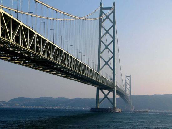 Akashi-Kaikyō Bridge (Kobe, Japan)