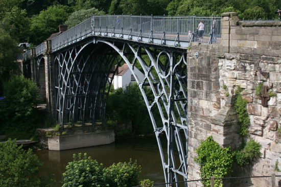 The Iron Bridge (Coalbrookdale, UK)