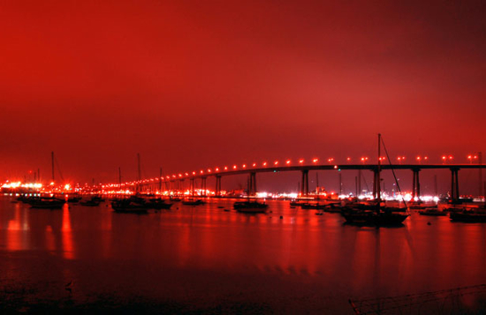 Coronado Bridge (San Diego, California, USA)