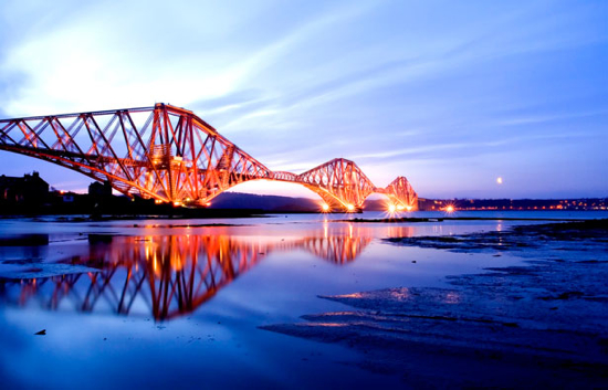Forth Railway Bridge (Fife, Scotland)