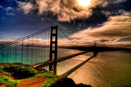 Golden Gate Bridge (San Franciso, California, USA)