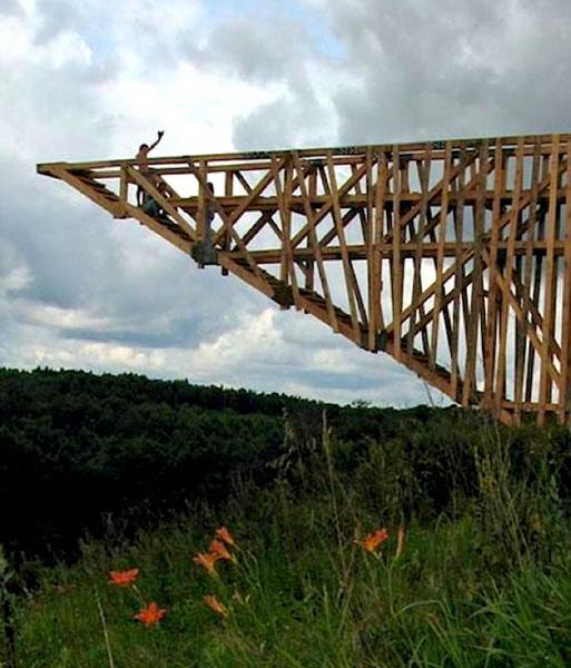 The Half-Bridge of Hope (Russia)