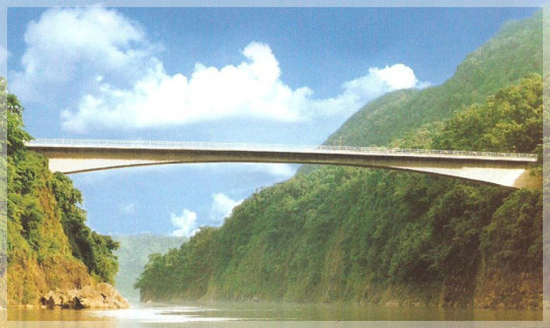 Jadukata Bridge (Ranikor, India)