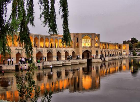 Khaju Bridge (Isfahan, Iran)